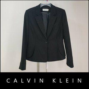 Calvin Klein Women W/ Line Printed Blazer Suit 10